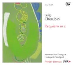Requiem en do Luigi Cherubini Partition Chœur - laflutedepan