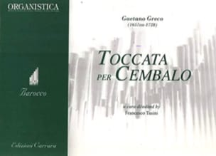 Gaetano Greco - Toccata - Sheet Music - di-arezzo.co.uk