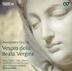 Allessandro Grandi - Vespro della Beata Vergine - Partition - di-arezzo.fr