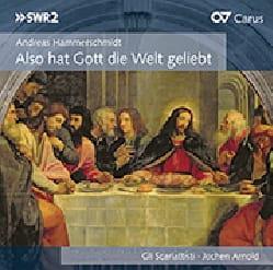 Hammerschmidt Andreas / Rosenmüller Johann - Also hat Gott die Welt geliebt - Partition - di-arezzo.fr