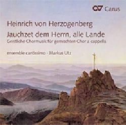 Heinrich von Herzogenberg - Jauchzet dem Herrn, alle Lande - Partition - di-arezzo.fr