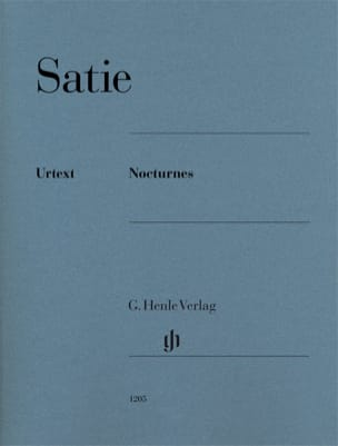 Nocturnes SATIE Partition Piano - laflutedepan