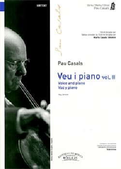 Pablo Casals - Voz y piano. Volume 2 - Partition - di-arezzo.fr