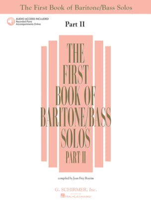 - The first book of baritone / bass solos. Part 2 - Sheet Music - di-arezzo.com