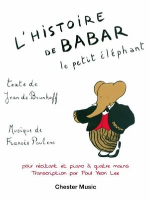 Francis Poulenc - Babar's story. 4 hands - Sheet Music - di-arezzo.com
