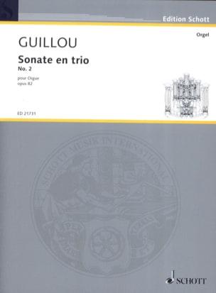 Jean Guillou - Trio Sonata No. 2 Opus 82 - Sheet Music - di-arezzo.com