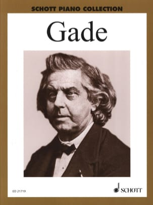 Selected Piano Works - Niels Gade - Partition - laflutedepan.com