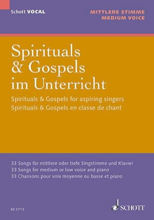 - Spirituals and gospels for the vocal class Mean Voice - Sheet Music - di-arezzo.co.uk