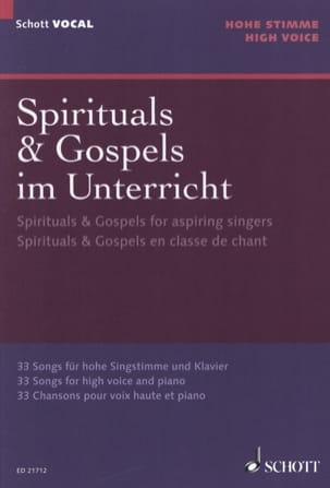 - Spirituals et gospels pour la classe de chant Voix haute - Partition - di-arezzo.fr