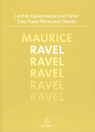 Maurice Ravel - Easy piano pieces and dances - Sheet Music - di-arezzo.co.uk