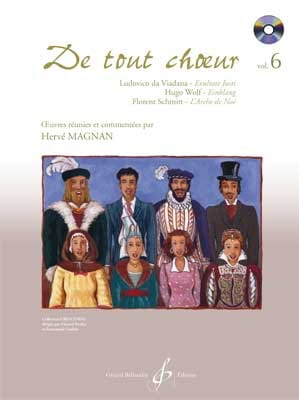 Hervé Magnan - From any choir Volume 6 - Sheet Music - di-arezzo.com