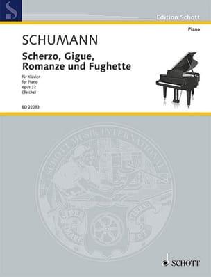 Scherzo, gigue, romanze et fughette op. 32 - laflutedepan.com