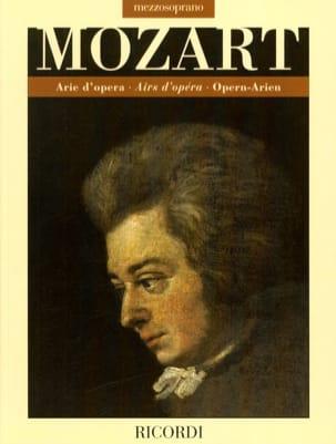 MOZART - アリードオペラ。ソプラノ - 楽譜 - di-arezzo.jp