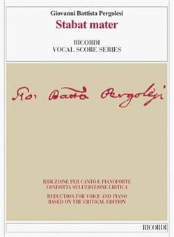 Giovanni Battista Pergolese - Stabat mater. Critical Edition - Sheet Music - di-arezzo.co.uk