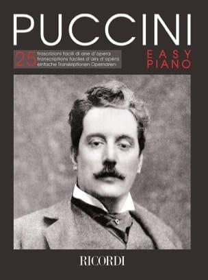 Giacomo Puccini - Puccini Easy piano - Partition - di-arezzo.fr