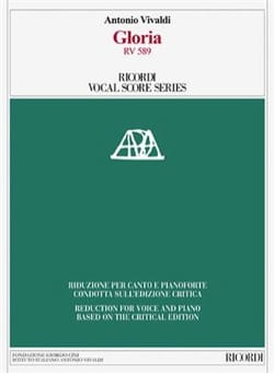 Gloria RV 589. Edition critique - VIVALDI - laflutedepan.com