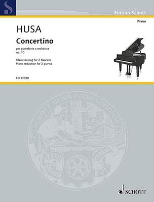 Karel Husa - Concertino op. 10 - Partition - di-arezzo.fr