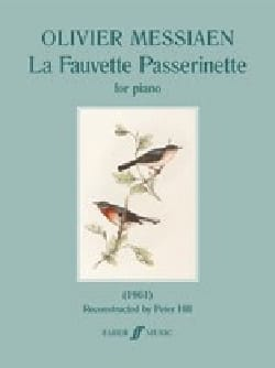 Olivier Messiaen - The Passerinette Warbler - Sheet Music - di-arezzo.com