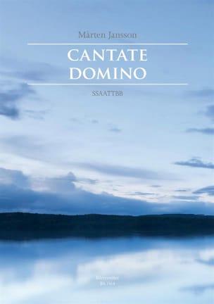 Cantate Domino - Marten Jansson - Partition - Chœur - laflutedepan.com