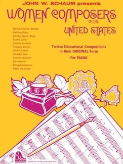 Women Composers of USA - Partition - Piano - laflutedepan.com
