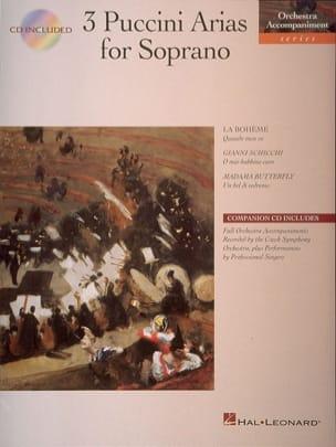 Giacomo Puccini - 3 Puccini Arias for Soprano - Sheet Music - di-arezzo.com