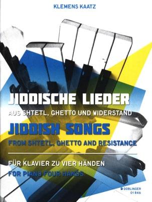 - Jiddische lieder. 4 hands - Sheet Music - di-arezzo.com