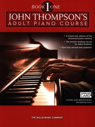 Méthode de piano adulte. Volume 1 John Thompson Partition laflutedepan