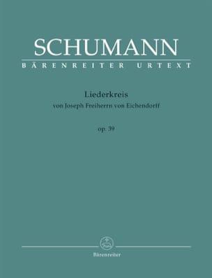 Robert Schumann - Liederkreis op. 39 - Partition - di-arezzo.fr