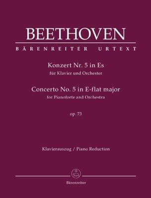 BEETHOVEN - Piano Concerto No. 5 Opus 73 In E Flat Major - Sheet Music - di-arezzo.co.uk