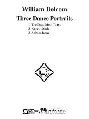 William Bolcom - Three Dance Portraits - Sheet Music - di-arezzo.com
