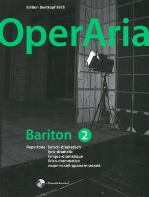 - OperAria Baryton. Volume 2 (avec CD) - Partition - di-arezzo.fr