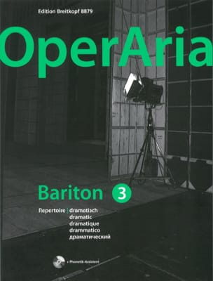 - OperAria Baryton. Volume 3 (avec CD) - Partition - di-arezzo.fr