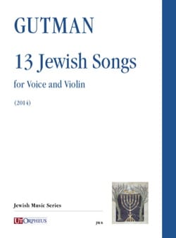 Delilah Gutman - 13 Jewish songs - Partition - di-arezzo.fr