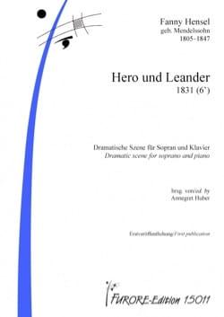 Fanny Hensel - Hero und Leander - Partition - di-arezzo.fr