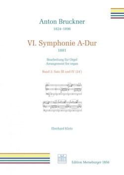 Anton Brückner - 交響曲第6番第3、第4楽章 - 楽譜 - di-arezzo.jp