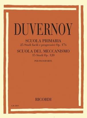 Jean-Baptiste Duvernoy - Estudios primarios op. 176 y estudios del mecanismo op. 120 - Partitura - di-arezzo.es