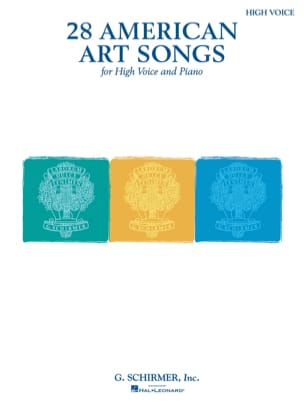 - 28 American Art Songs. Aloud - Sheet Music - di-arezzo.com