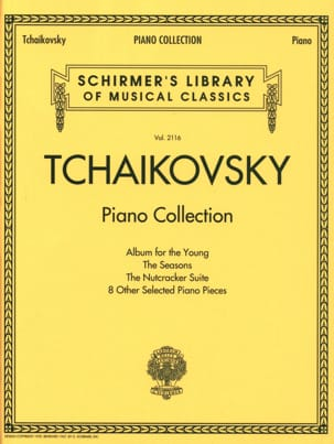 Piano Collection TCHAIKOVSKY Partition Piano - laflutedepan