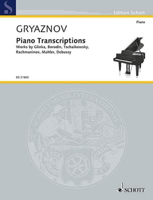 Vyacheslav Gryaznov - Piano transcriptions - Sheet Music - di-arezzo.co.uk