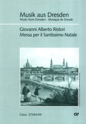 Giovanni Alberto Ristori - Messa Per il Santissimo Natale - Sheet Music - di-arezzo.com