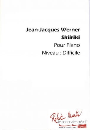 Jean-Jacques Werner - Skiriki - Partition - di-arezzo.fr