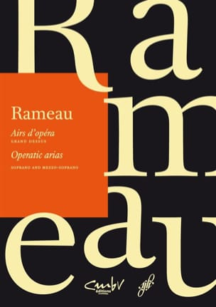 Jean-Philippe Rameau - Opera tunes. Large top - Sheet Music - di-arezzo.com