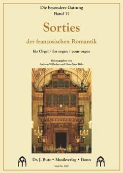 Sorties - Partition - Orgue - laflutedepan.com