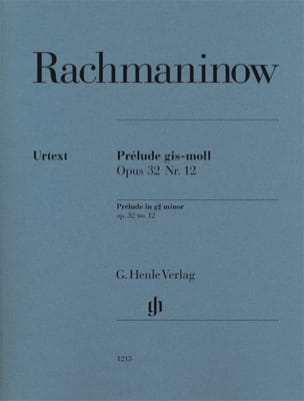 RACHMANINOV - Prelude in G sharp minor op 32-12 - Sheet Music - di-arezzo.com