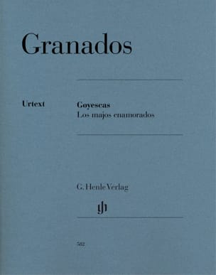 Enrique Granados - Goyescas - Los majos enamorados - Sheet Music - di-arezzo.co.uk