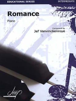 Jef VANVINCKENROYE - Romance - Partition - di-arezzo.fr