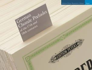 - Préludes de chorals allemands du 17ème et 18ème s. - Partition - di-arezzo.fr