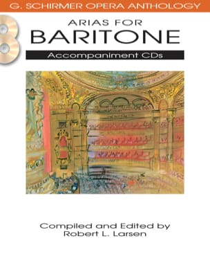 - Opera Anthology: Arias For Baritone Accompaniment CD's - Sheet Music - di-arezzo.co.uk