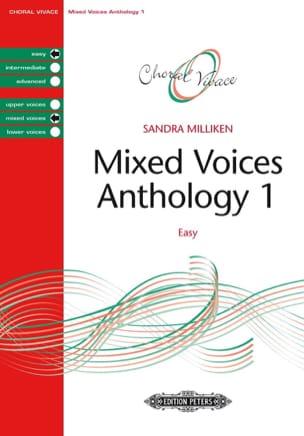 Anthologie pour choeur mixte. Volume 1 Sandra Milliken laflutedepan