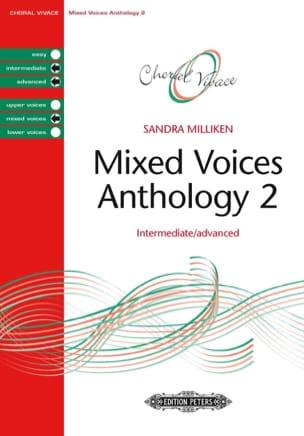 Anthologie pour choeur mixte. Volume 2 Sandra Milliken laflutedepan